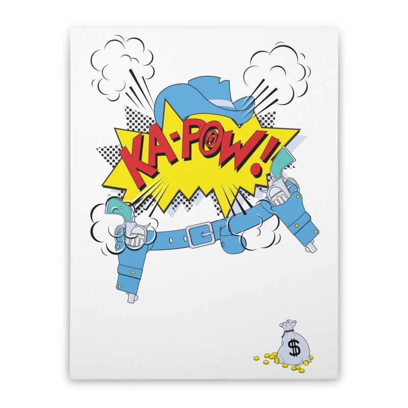 Ka-PowBoy!! Home Stretched Canvas by cumulo7's Artist Shop
