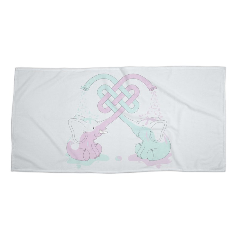 Elefunt Accessories Beach Towel by cumulo7's Artist Shop
