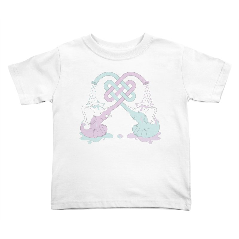 Elefunt Kids Toddler T-Shirt by cumulo7's Artist Shop
