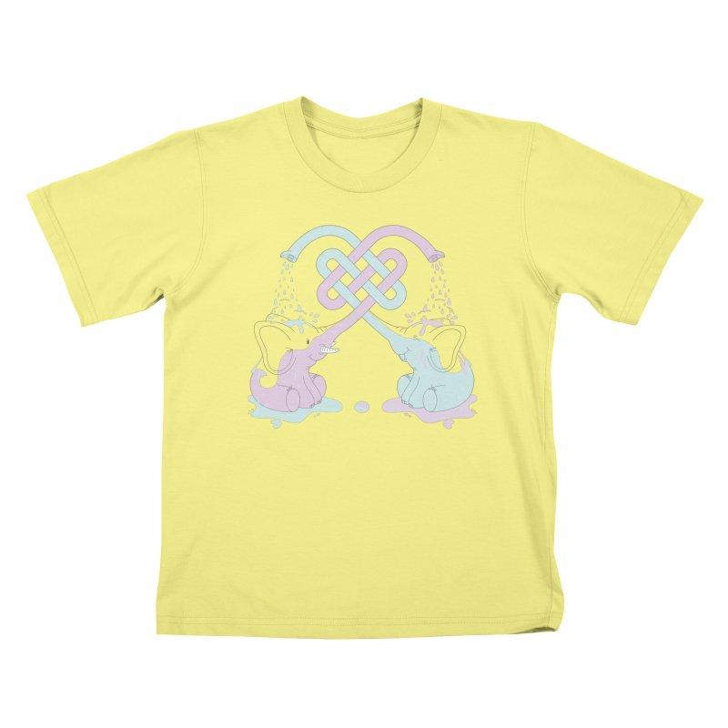 Elefunt Kids T-shirt by cumulo7's Artist Shop