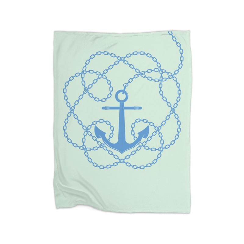 Anchord Home Blanket by cumulo7's Artist Shop
