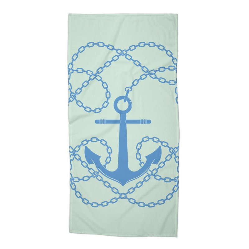 Anchord Accessories Beach Towel by cumulo7's Artist Shop