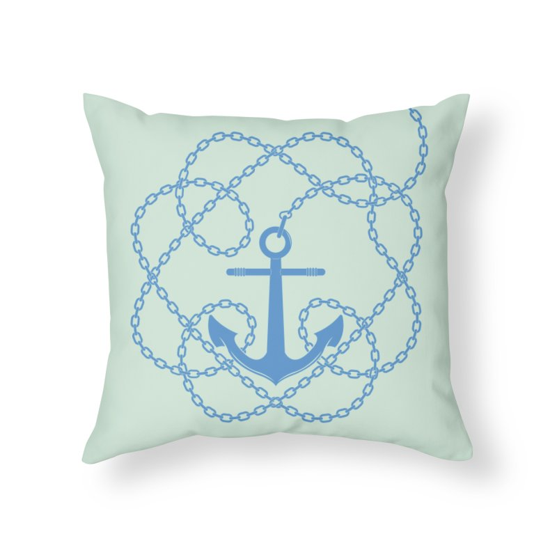 Anchord in Throw Pillow by cumulo7's Artist Shop