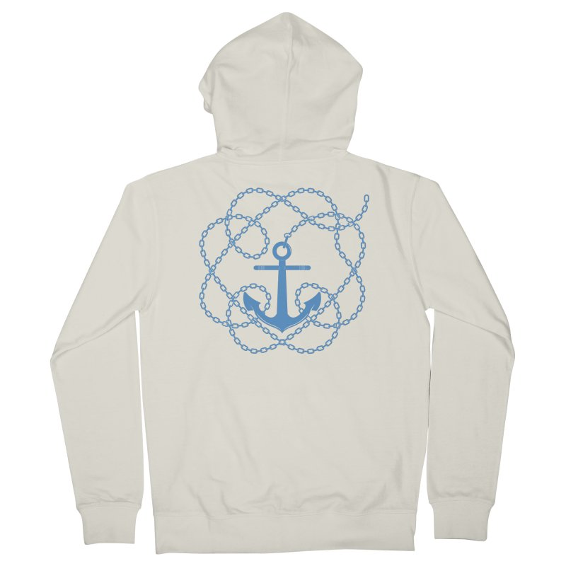 Anchord Men's French Terry Zip-Up Hoody by Cumulo 7