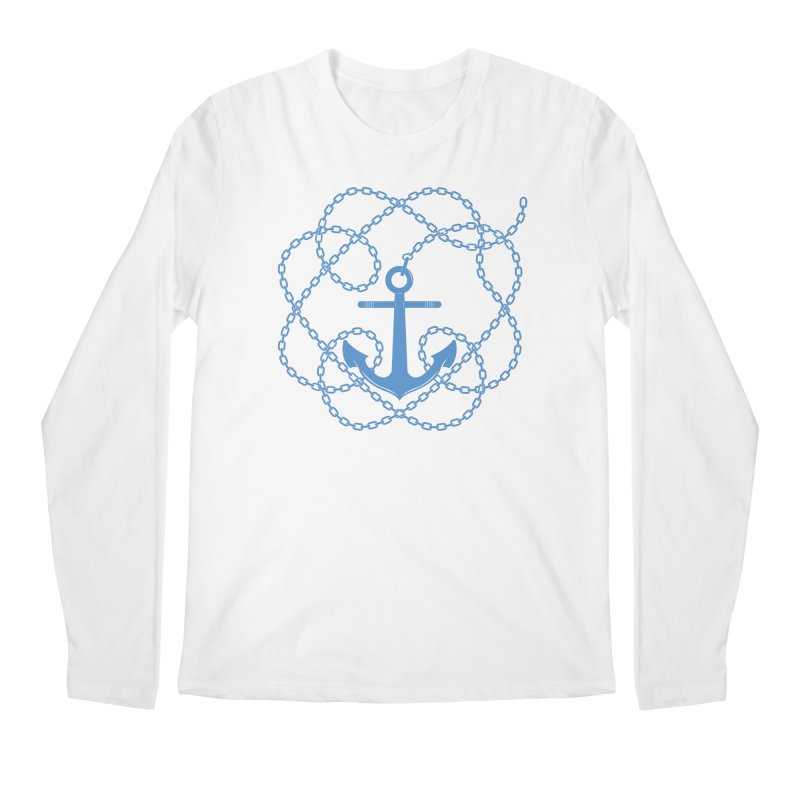 Anchord Men's Regular Longsleeve T-Shirt by Cumulo 7