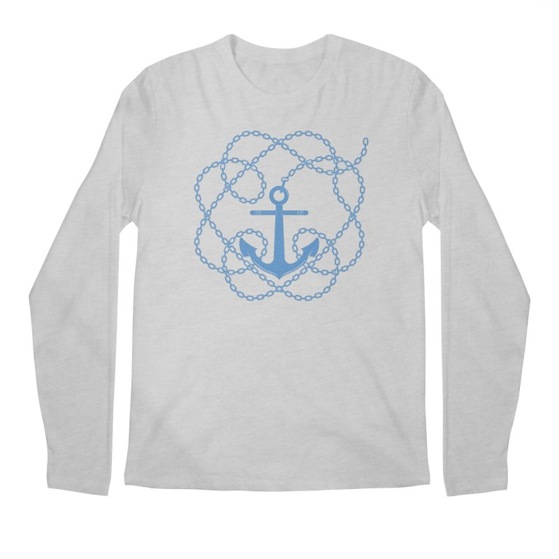 Anchord Men's Longsleeve T-Shirt by cumulo7's Artist Shop