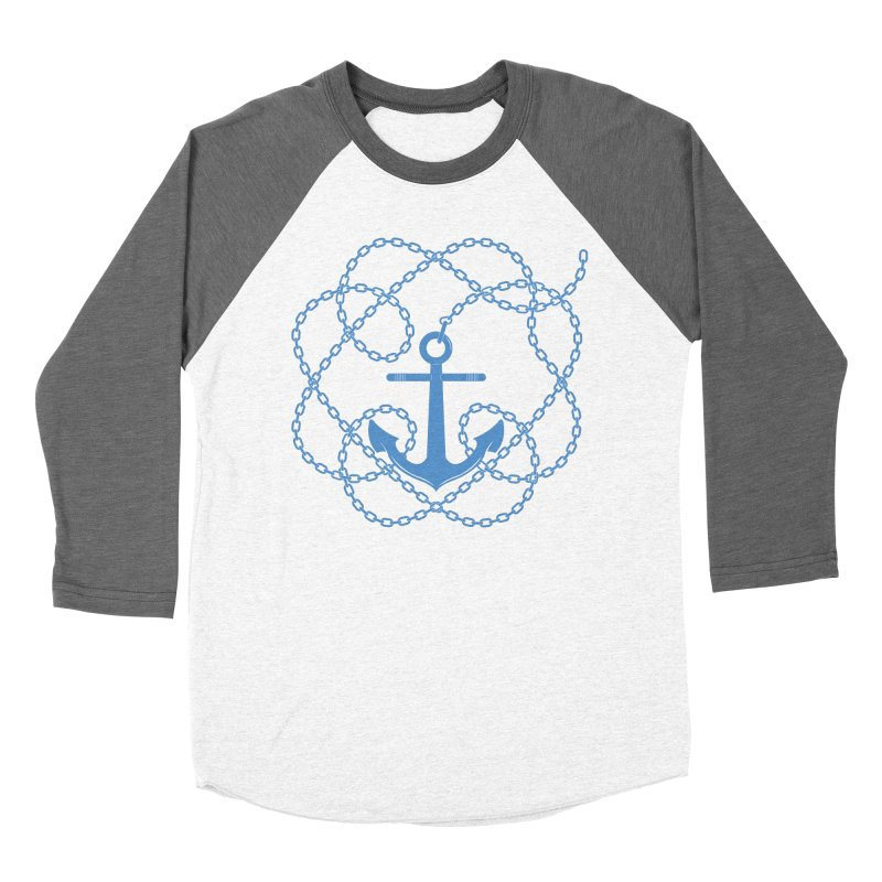 Anchord Women's Baseball Triblend Longsleeve T-Shirt by Cumulo 7