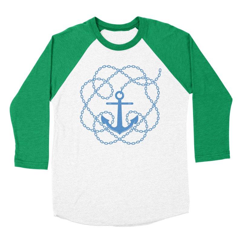 Anchord Women's Baseball Triblend Longsleeve T-Shirt by Cumulo 7