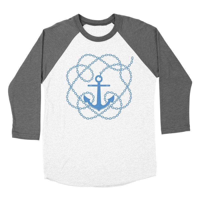 Anchord Men's Baseball Triblend Longsleeve T-Shirt by cumulo7's Artist Shop