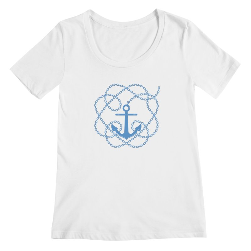 Anchord Women's Scoopneck by cumulo7's Artist Shop