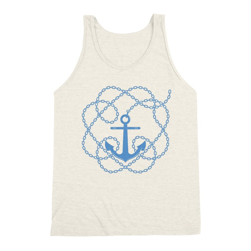 Anchord Men's Triblend Tank by Cumulo 7