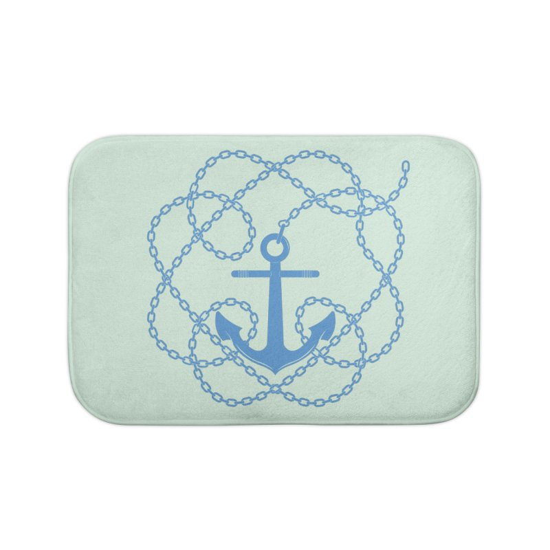 Anchord Home Bath Mat by cumulo7's Artist Shop