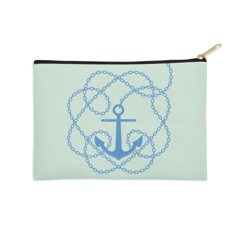Anchord Accessories Zip Pouch by cumulo7's Artist Shop