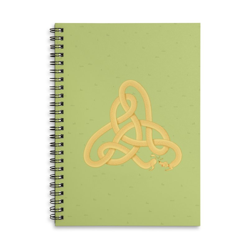 Fragrance Accessories Lined Spiral Notebook by Cumulo 7