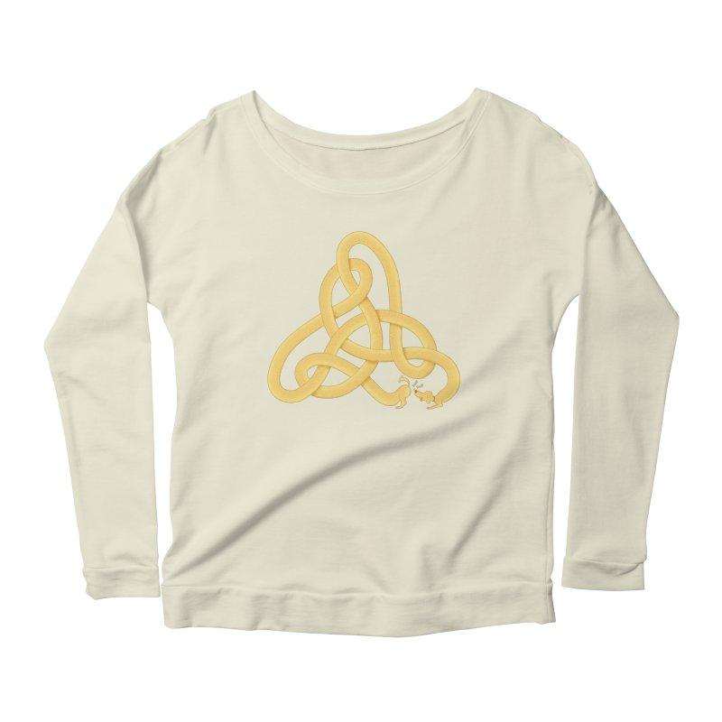 Fragrance Women's Scoop Neck Longsleeve T-Shirt by cumulo7's Artist Shop