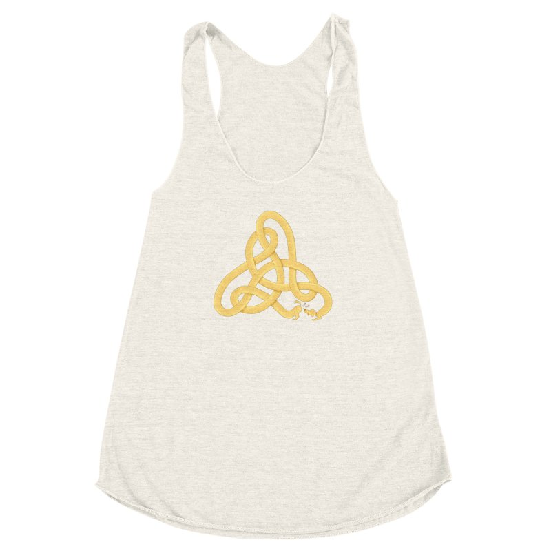 Fragrance Women's Racerback Triblend Tank by cumulo7's Artist Shop
