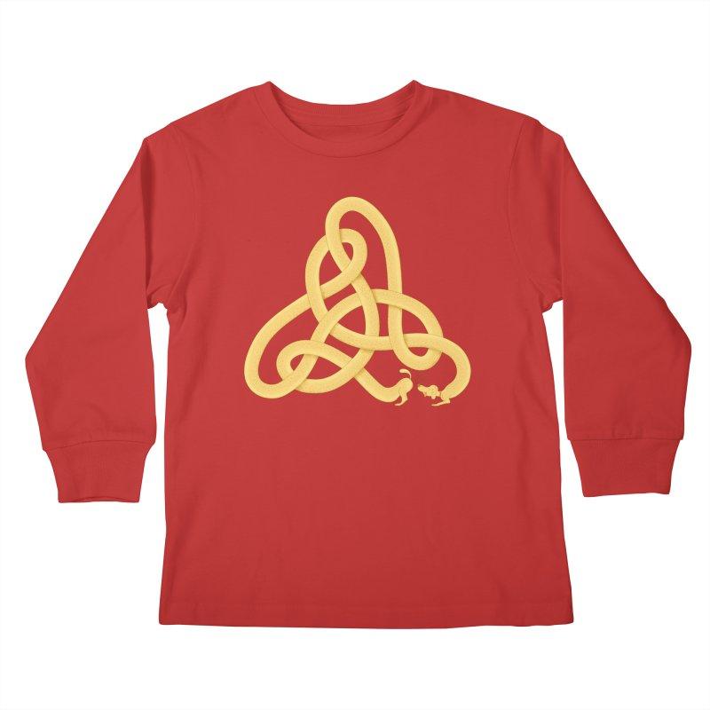 Fragrance Kids Longsleeve T-Shirt by Cumulo 7
