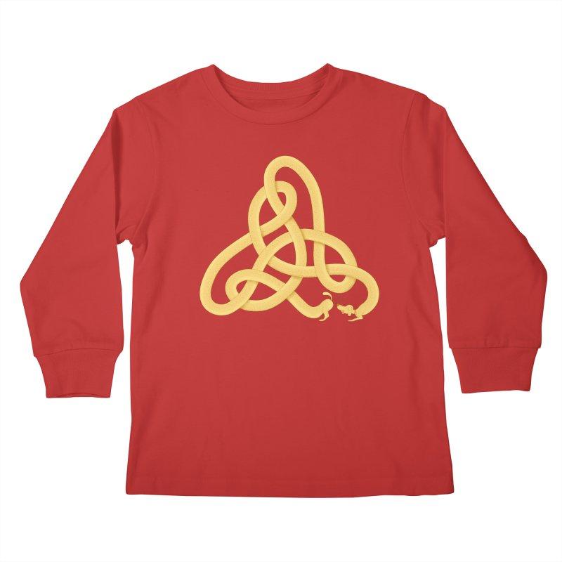 Fragrance Kids Longsleeve T-Shirt by cumulo7's Artist Shop