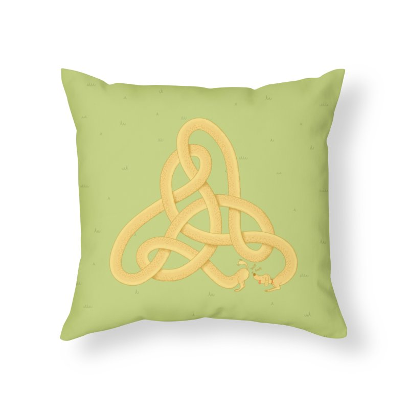 Fragrance Home Throw Pillow by cumulo7's Artist Shop