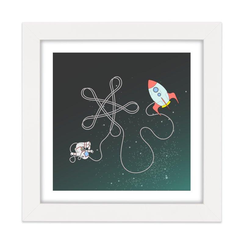 Twinkle, Twinkle, Little Space Man Home Framed Fine Art Print by Cumulo 7