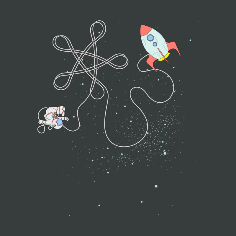 Twinkle, Twinkle, Little Space Man Kids T-shirt by cumulo7's Artist Shop
