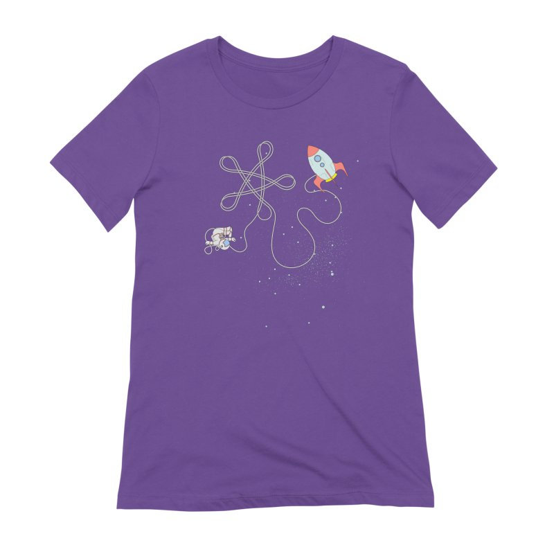 Twinkle, Twinkle, Little Space Man Women's Extra Soft T-Shirt by cumulo7's Artist Shop