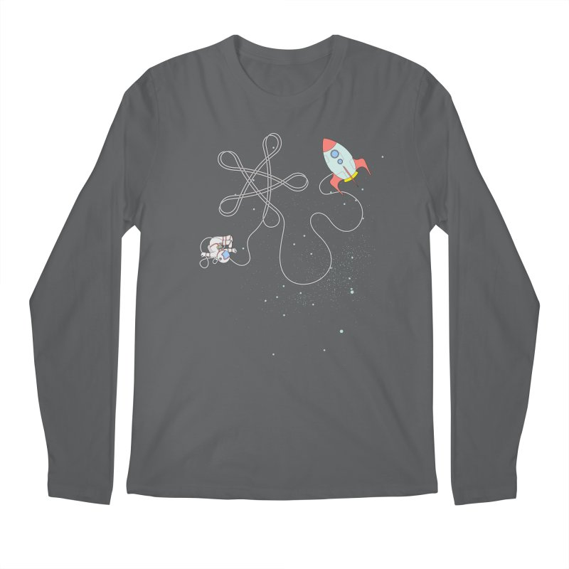Twinkle, Twinkle, Little Space Man Men's Longsleeve T-Shirt by Cumulo 7