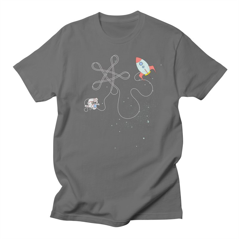 Twinkle, Twinkle, Little Space Man Women's T-Shirt by Cumulo 7