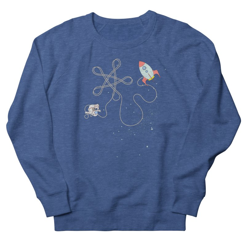 Twinkle, Twinkle, Little Space Man Women's Sweatshirt by Cumulo 7
