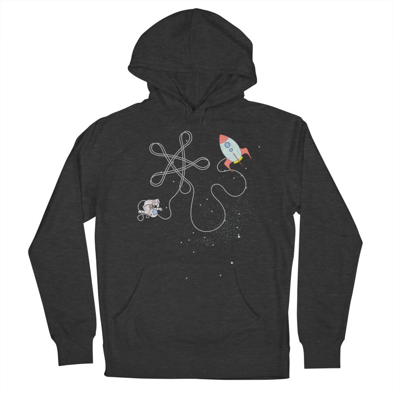 Twinkle, Twinkle, Little Space Man Women's French Terry Pullover Hoody by cumulo7's Artist Shop