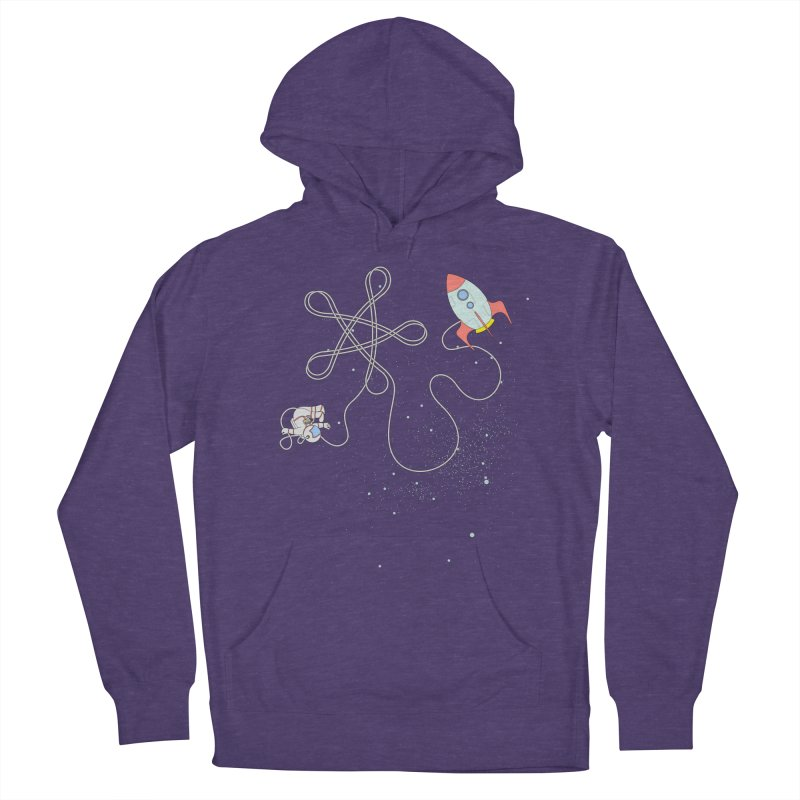 Twinkle, Twinkle, Little Space Man Men's French Terry Pullover Hoody by cumulo7's Artist Shop