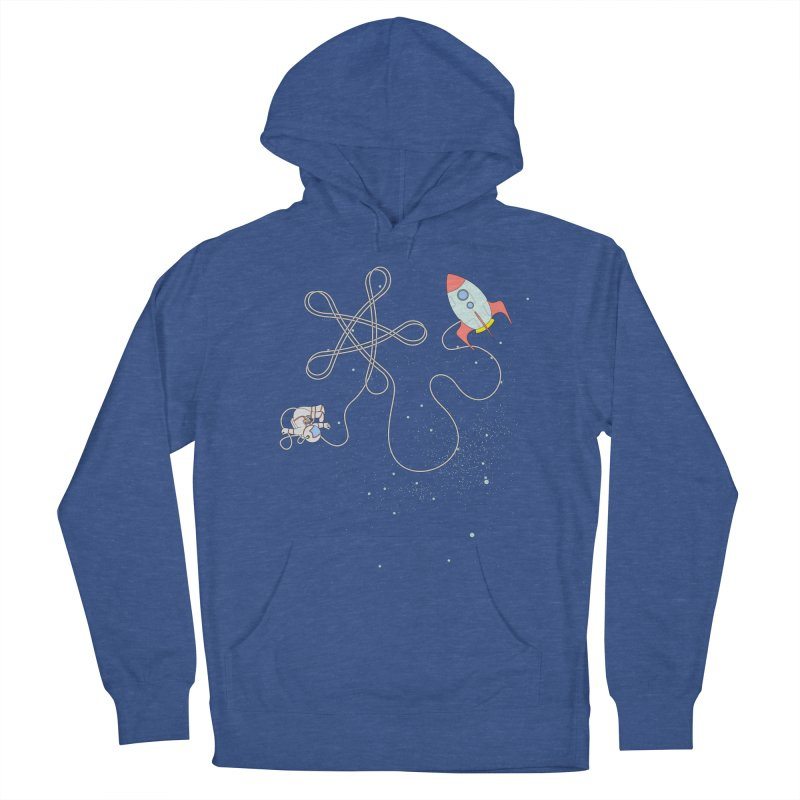 Twinkle, Twinkle, Little Space Man Men's French Terry Pullover Hoody by Cumulo 7