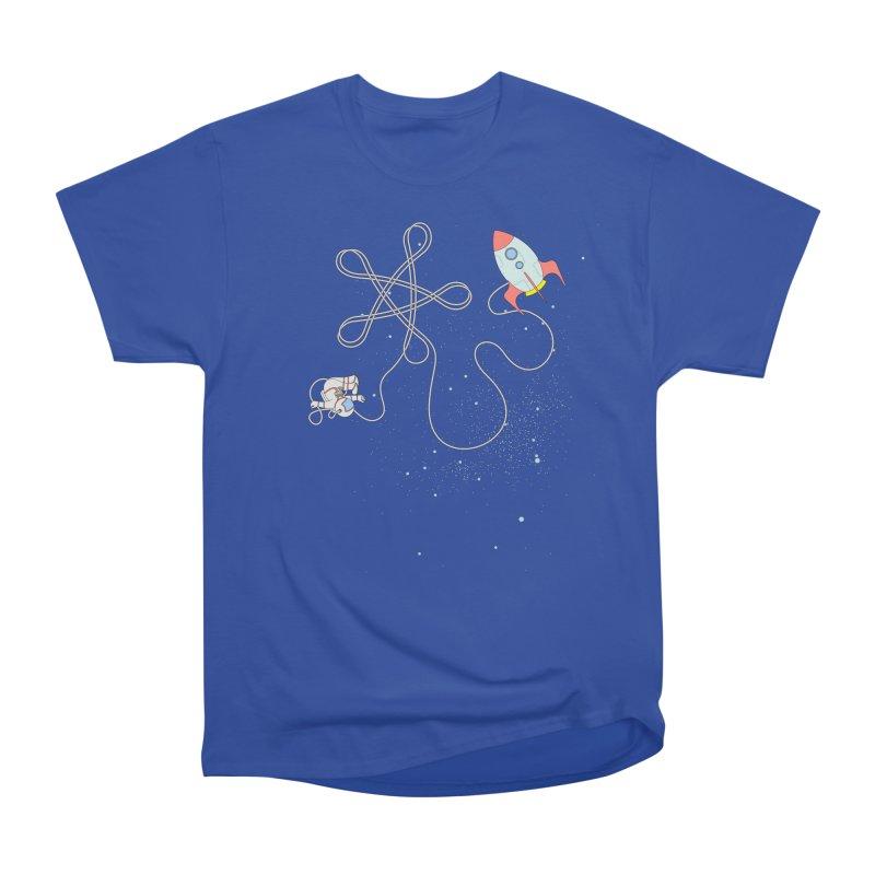 Twinkle, Twinkle, Little Space Man Women's Heavyweight Unisex T-Shirt by cumulo7's Artist Shop