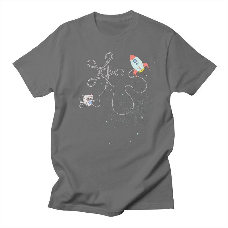 Twinkle, Twinkle, Little Space Man Men's T-Shirt by Cumulo 7