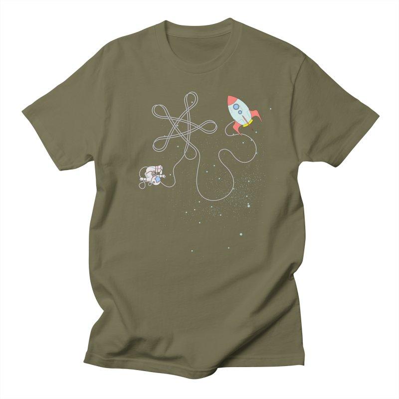 Twinkle, Twinkle, Little Space Man Men's T-Shirt by cumulo7's Artist Shop