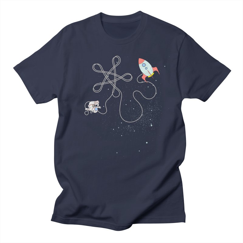 Twinkle, Twinkle, Little Space Man Men's Regular T-Shirt by Cumulo 7