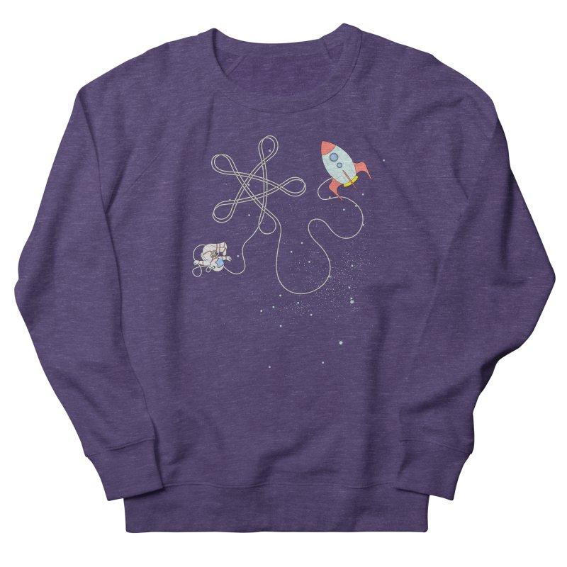 Twinkle, Twinkle, Little Space Man Men's French Terry Sweatshirt by cumulo7's Artist Shop