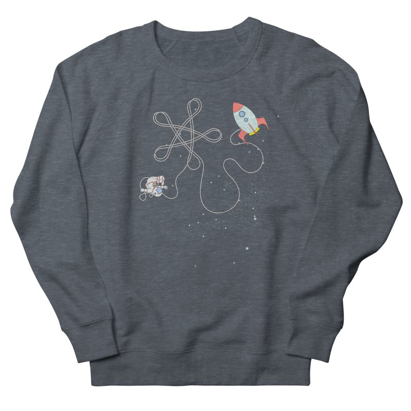 Twinkle, Twinkle, Little Space Man Men's Sweatshirt by Cumulo 7