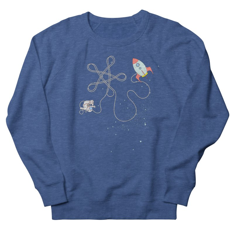 Twinkle, Twinkle, Little Space Man Men's French Terry Sweatshirt by Cumulo 7
