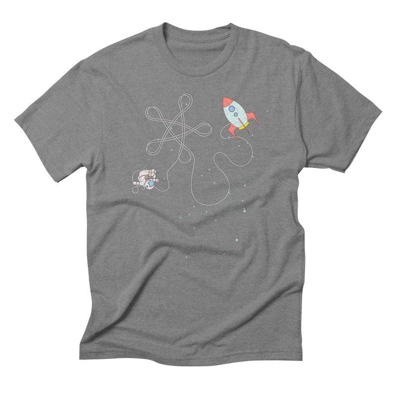 Twinkle, Twinkle, Little Space Man Men's Triblend T-Shirt by Cumulo 7