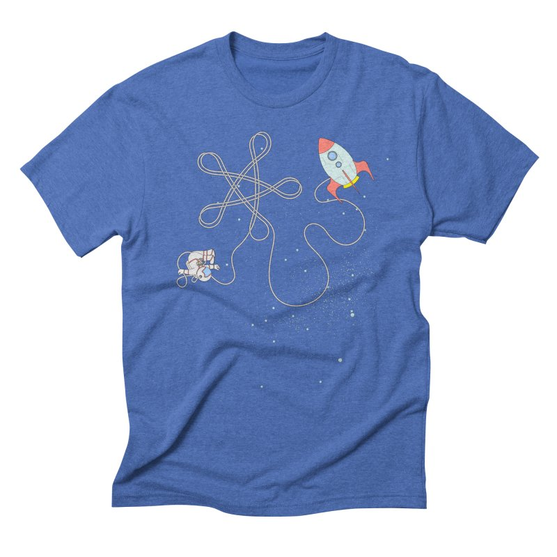 Twinkle, Twinkle, Little Space Man Men's Triblend T-shirt by cumulo7's Artist Shop