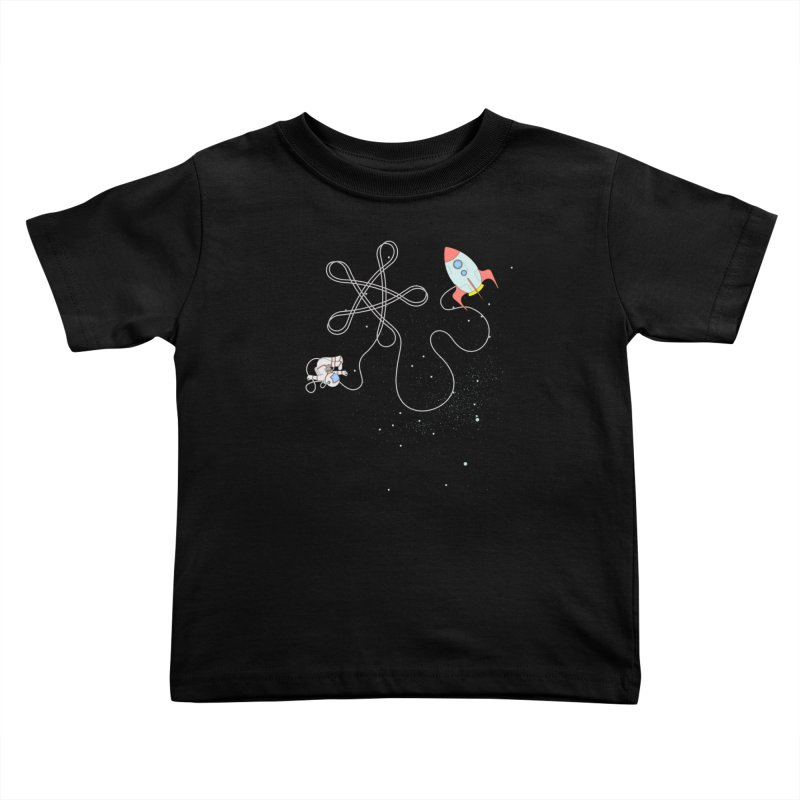 Twinkle, Twinkle, Little Space Man Kids Toddler T-Shirt by cumulo7's Artist Shop
