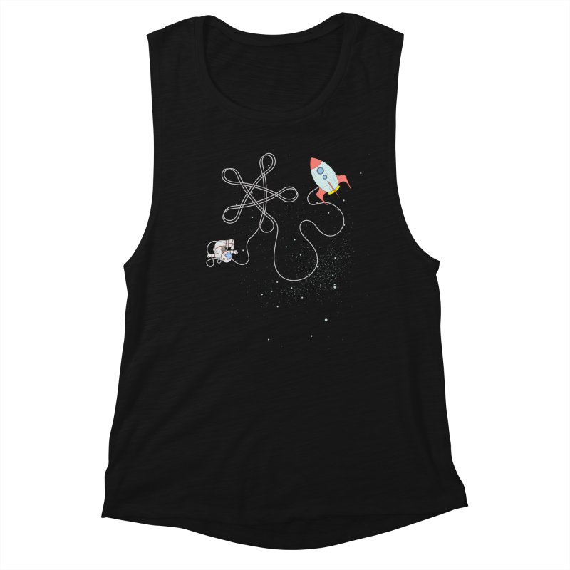 Twinkle, Twinkle, Little Space Man Women's Tank by Cumulo 7