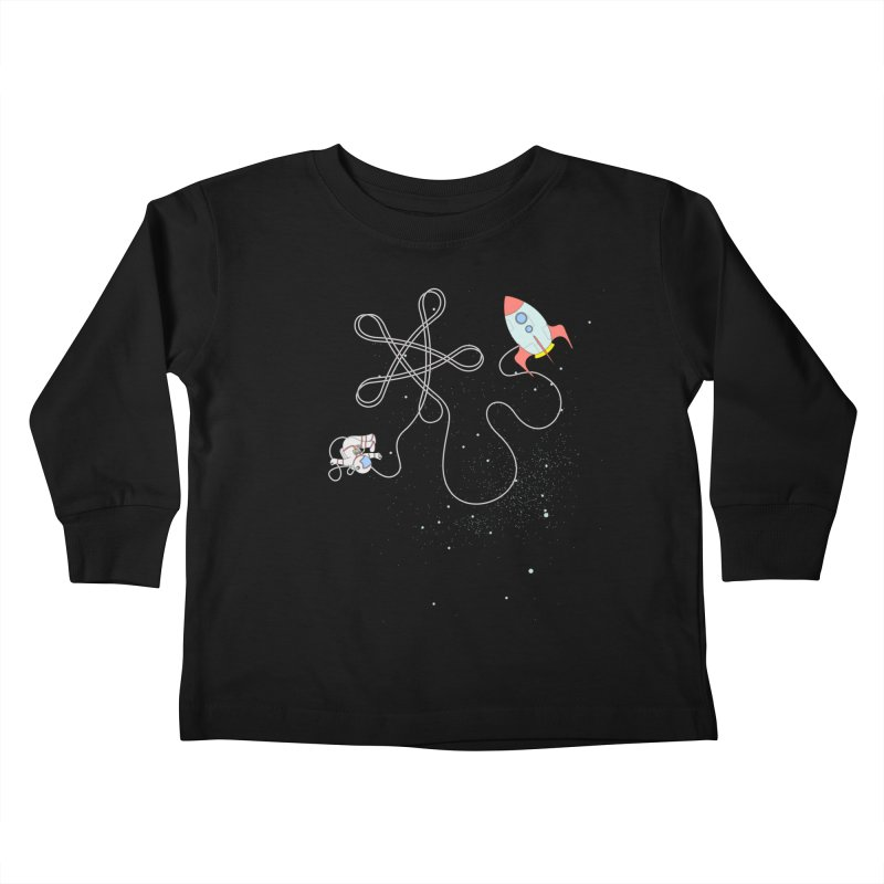 Twinkle, Twinkle, Little Space Man Kids Toddler Longsleeve T-Shirt by cumulo7's Artist Shop