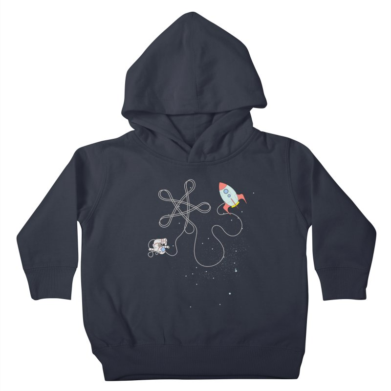 Twinkle, Twinkle, Little Space Man Kids Toddler Pullover Hoody by cumulo7's Artist Shop