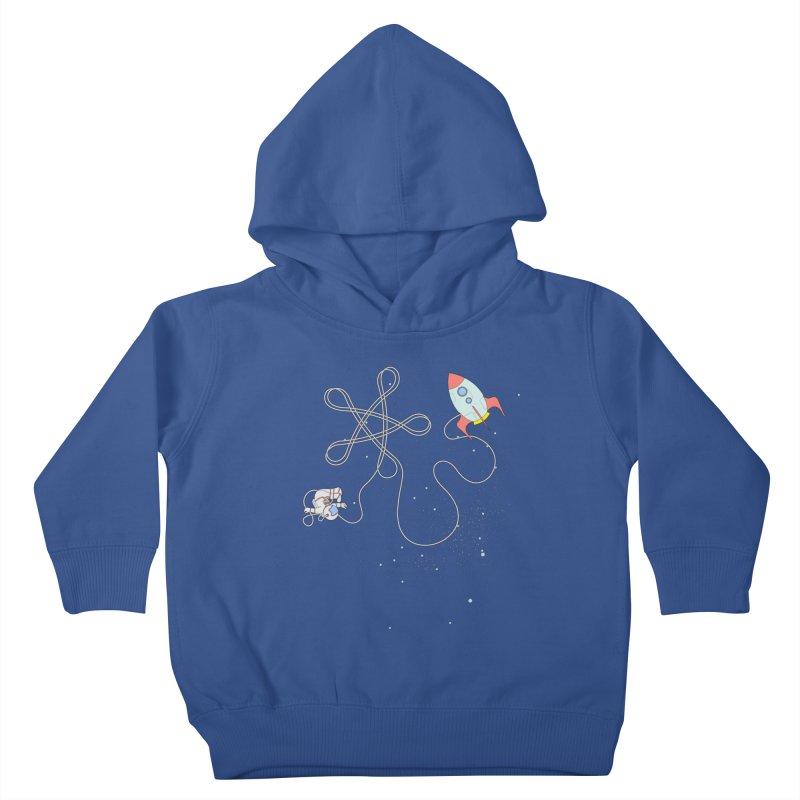 Twinkle, Twinkle, Little Space Man Kids Toddler Pullover Hoody by cumulo7's Artist Shop