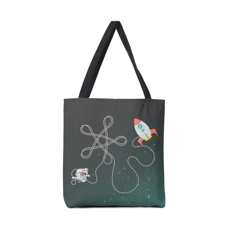 Twinkle, Twinkle, Little Space Man Accessories Bag by cumulo7's Artist Shop