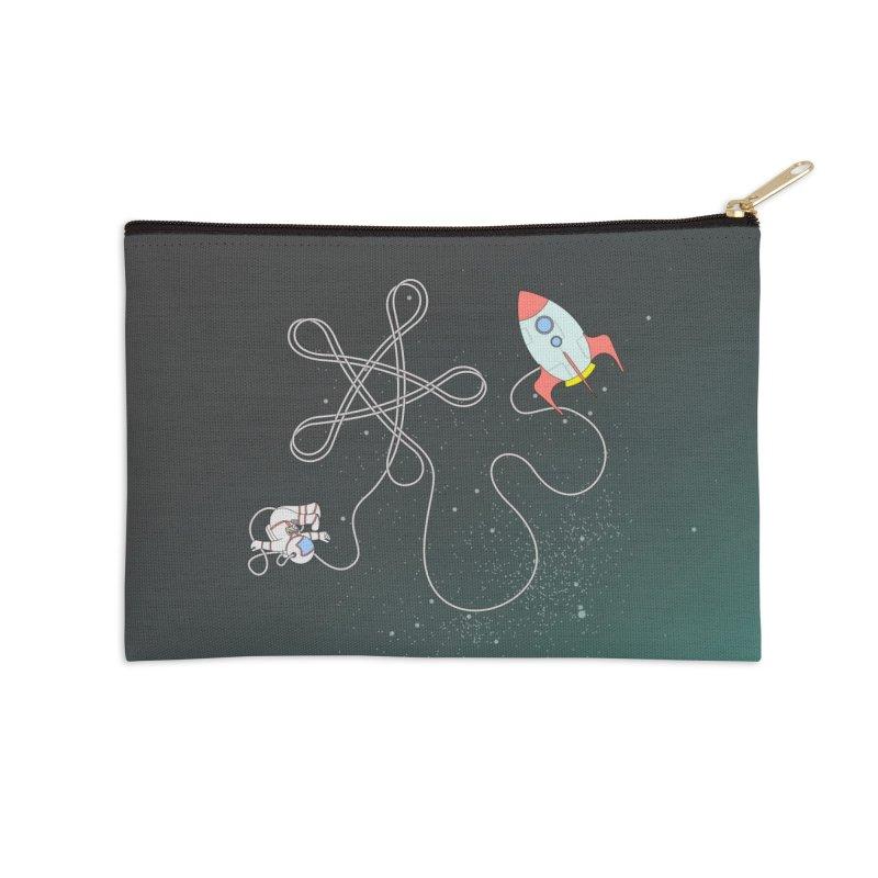 Twinkle, Twinkle, Little Space Man Accessories Zip Pouch by cumulo7's Artist Shop
