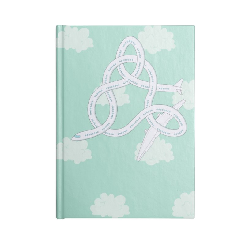 Airplane! Accessories Blank Journal Notebook by Cumulo 7