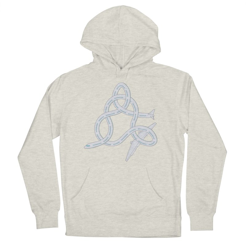 Airplane! Women's French Terry Pullover Hoody by cumulo7's Artist Shop